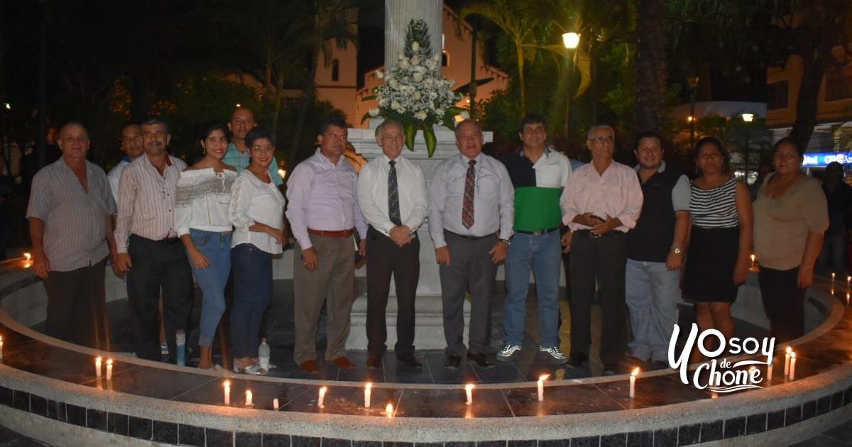 Busto de Sucre rinde homenaje conmemorativo al 16A