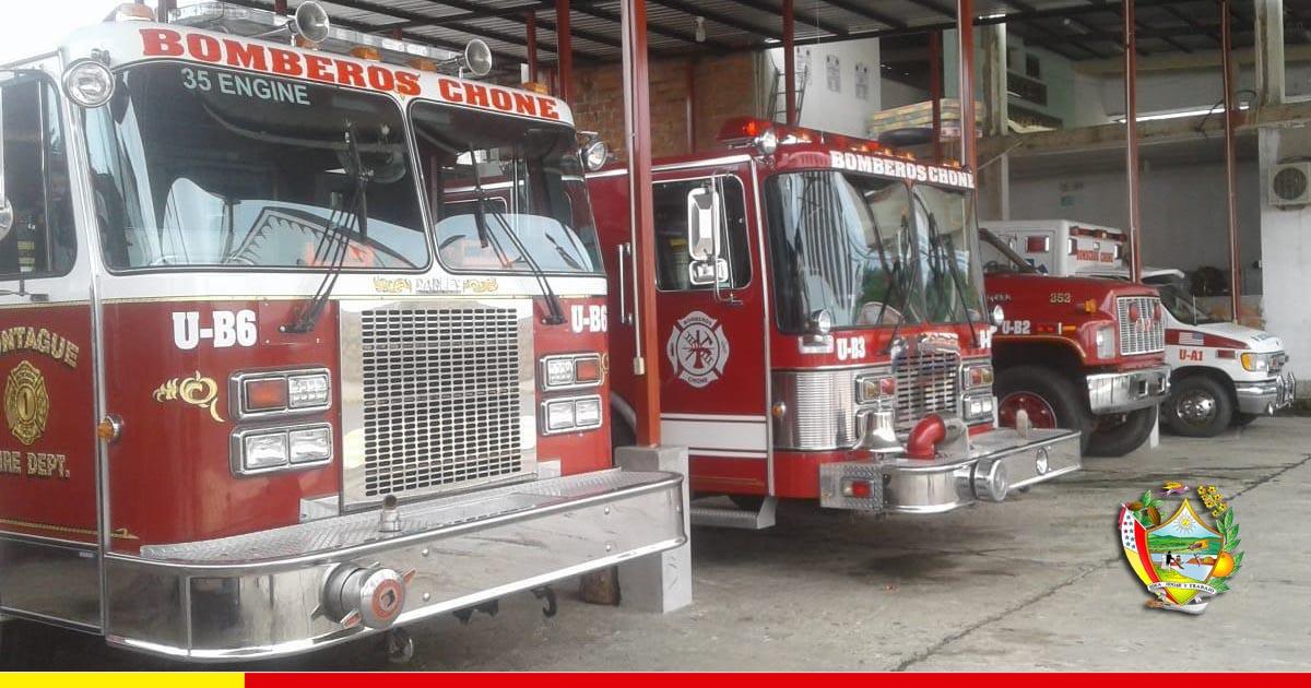 Cinco parroquias tendrán compañías de bomberos y sus carros contra incendios