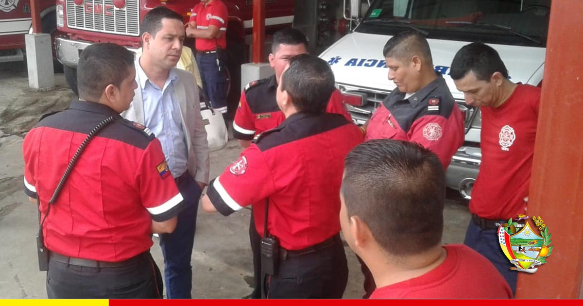 Leonardo Rodríguez: Buscaremos que el Cuerpo de Bomberos esté entre los mejores de la provincia y el país