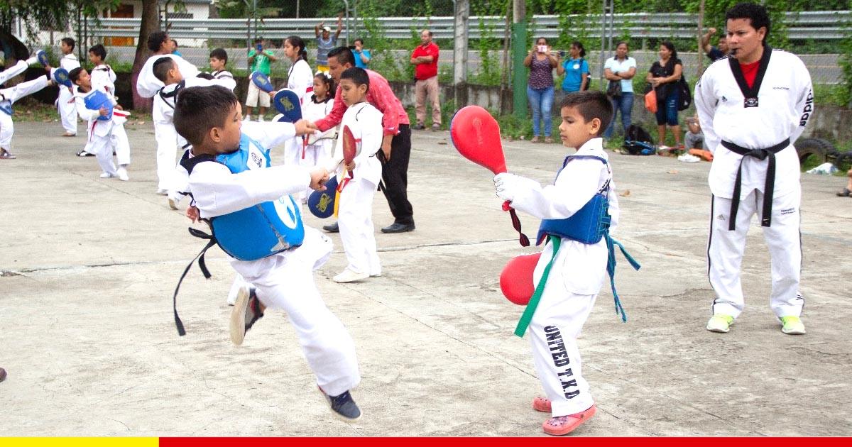 Las escuelas deportivas llegan a la zona rural