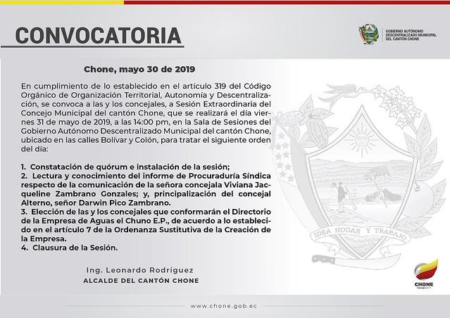 Convocatorias 2019