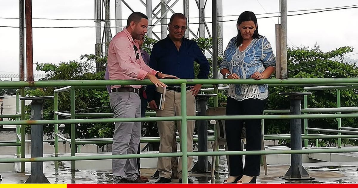 Concejales miembros del directorio verifican situación de Aguas del Chuno