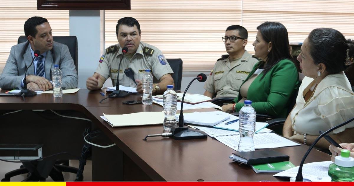 Habrá 3 nuevas políticas para fortalecer la seguridad ciudadana en Chone
