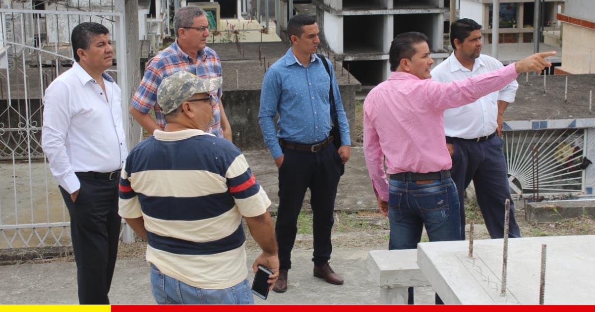 Cementerio de Canuto será adecentado previo a las fiestas