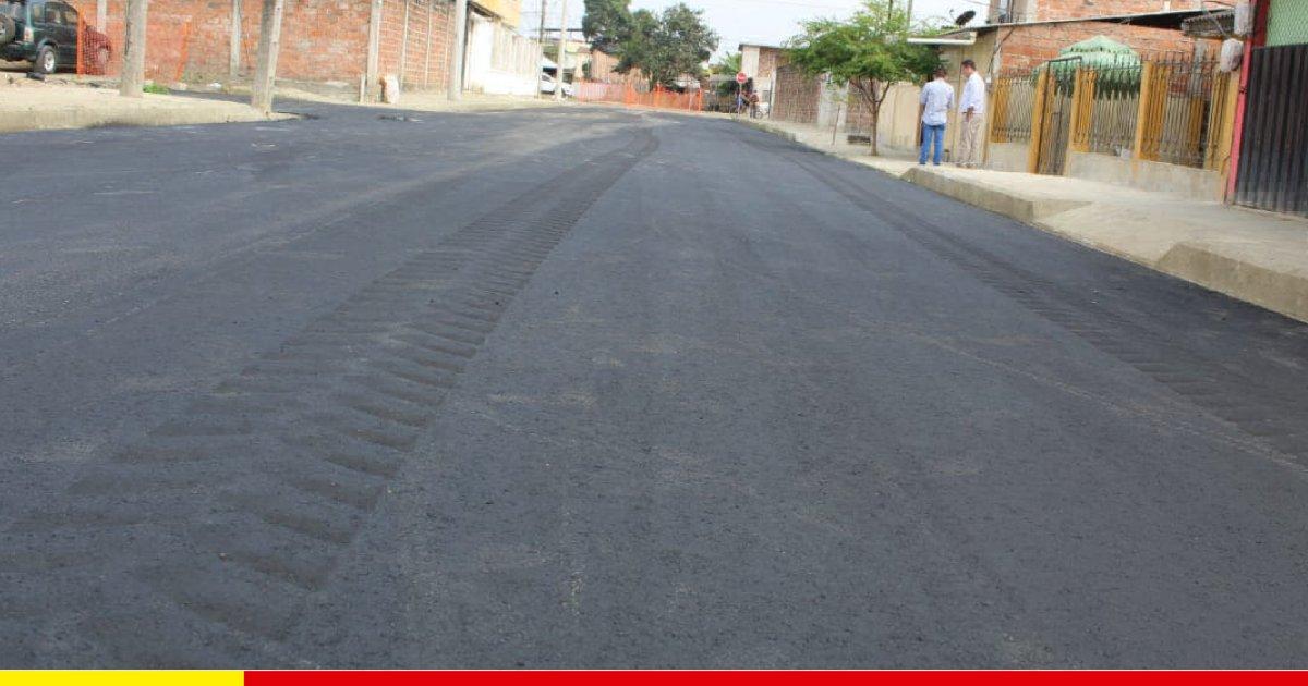 En la ciudadela Bowen sienten que resurgen con calle asfaltada
