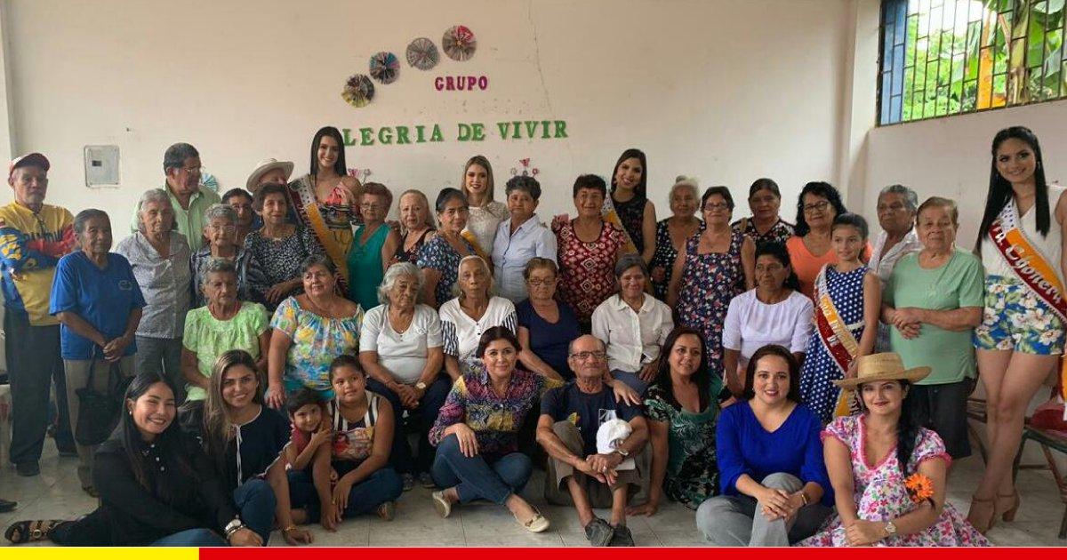 550 adultos mayores se benefician en Chone con el programa Mis Mejores Años