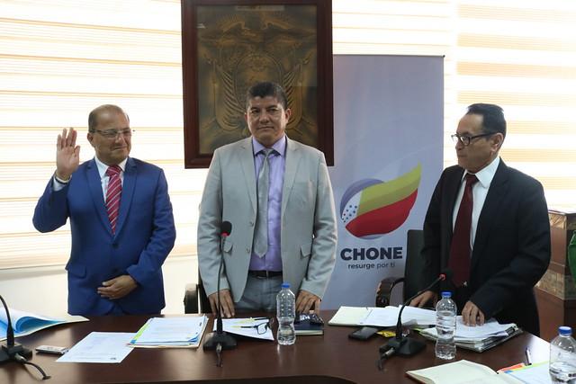 Edil Francisco Zambrano integra el Consejo de Planificación de Chone