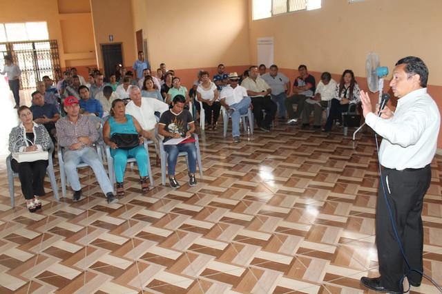 Asamblea provincial recoge información de los barrios choneros