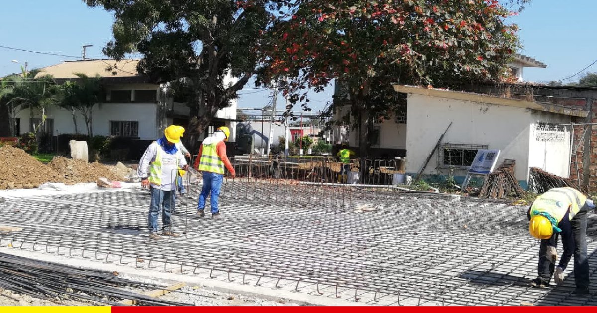 Estructura para instalar plantas modulares es colocada en Aguas del Chuno