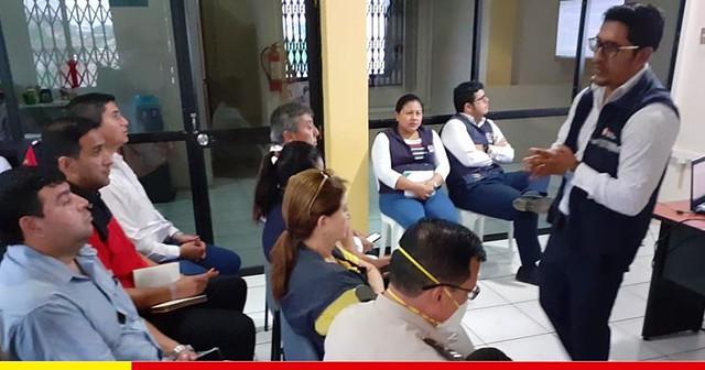 Mesa de salud del COE Cantonal de Chone se activa ante el coronavirus en Ecuador