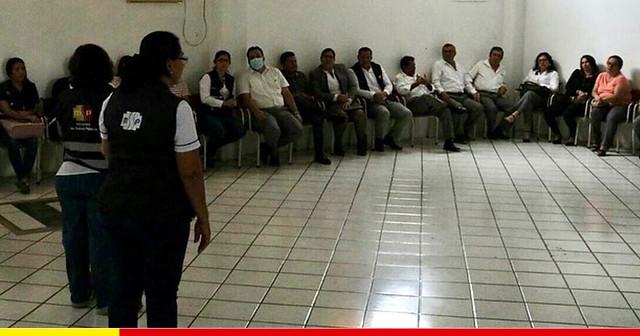Personal municipal es capacitado para enfatizar la prevención del coronavirus