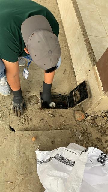 3.800 medidores de agua potable son limpiados y protegidos en Chone