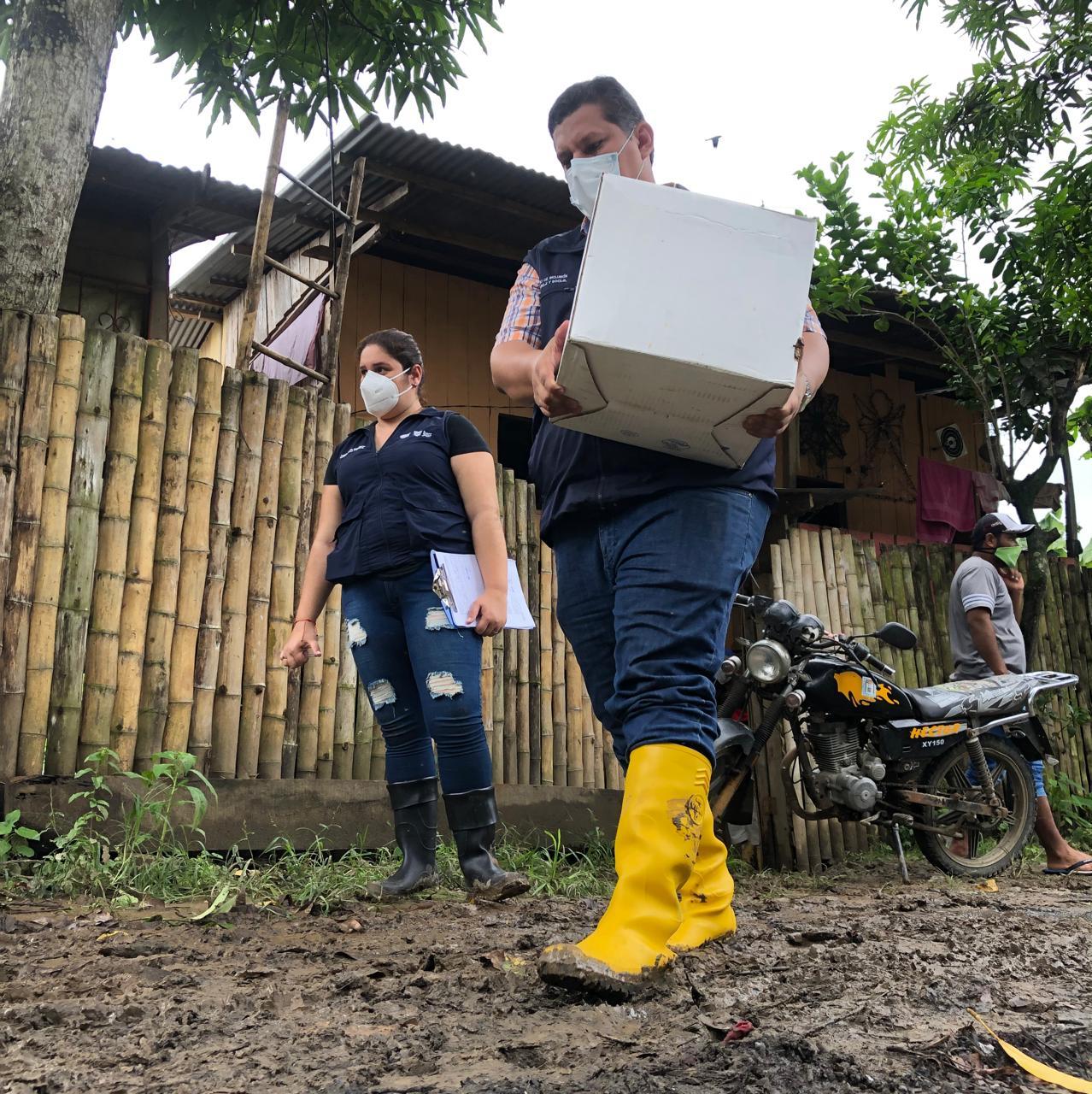 Atención humanitaria en territorio