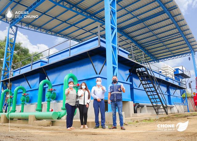 13 mil familias chonenses se beneficiarán con el nuevo módulo de agua potable de la ciudad