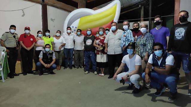 El sector Chequelandia coopera al fortalecimiento de la seguridad, tras la instalación de alarmas comunitarias
