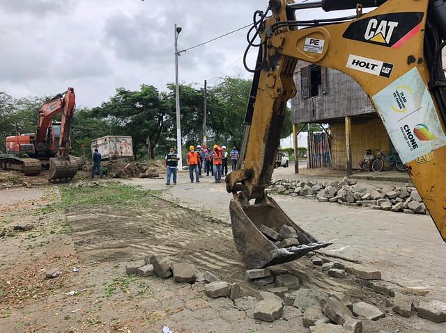 El Plan Hidrosanitario ejecuta un profundo cambio en San Felipe