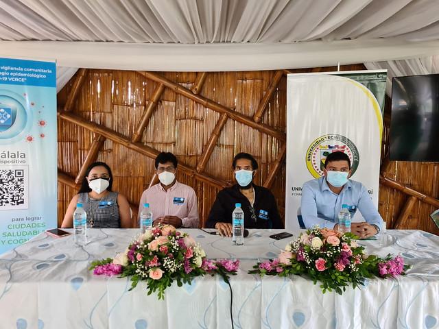 Información de Chone se incluye en la nueva APP CuidémonosEC, para controlar y combatir la pandemia