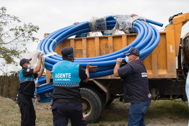Más de 170 familias recibirán agua de calidad en los sitios Boca del Mono y Pueblo Seco