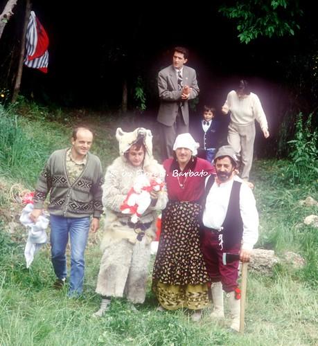 Pretoro (CH), 1990, Festa di San Domenico e Rappresentazione de