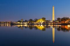 Washington Dawn Monument