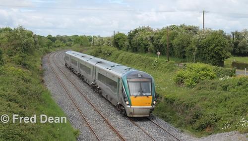 Irish Rail ICR Set 19 at Goold's Cross.
