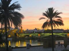 Seville: Promenade area of the river