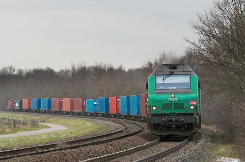 Containers dans la courbe