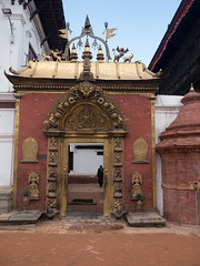 Golden Gate to Royal Palace in Durbar Square, Bhaktapur