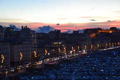 les couleurs des nuages du soir