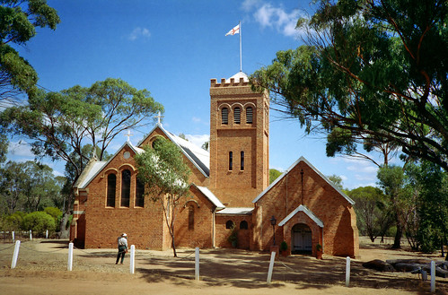Early 1994 - Historic Holy Trinity Church (c. 1854), at York, Western Australia
