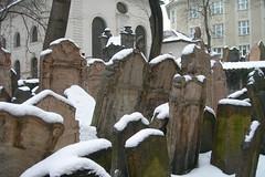 Old Jewish Cemetery Prague / Cementerio judío de Praga
