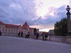 Berlin - Strolling along Spree River, across from Museum Island