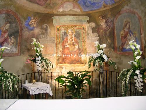 Villa di Briano (CE), 2005, Santuario della Madonna di Briano, affresco dell'abside.
