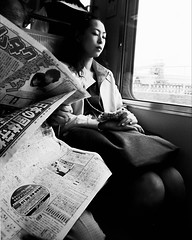 Beauty on a Train, circa 2000