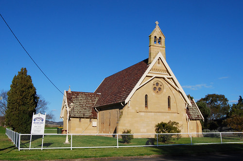 St Matthias Anglican Church, Denman, NSW.
