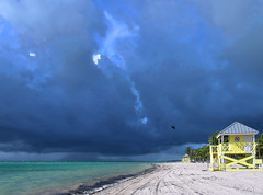Ahead of the storm front - Key Biscayne