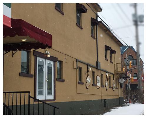 Prescott Hotel on Preston St. Seen from Beech St. Side