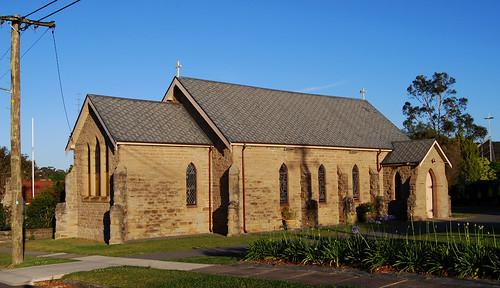 St Lukes's Anglican Church, Wallsend, NSW.