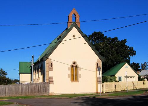 Ex St Johns Church, Hinton, NSW.