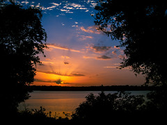 Sunset from the Arboretum