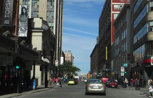 Rue Sainte-Catherine, Montreal, Quebec