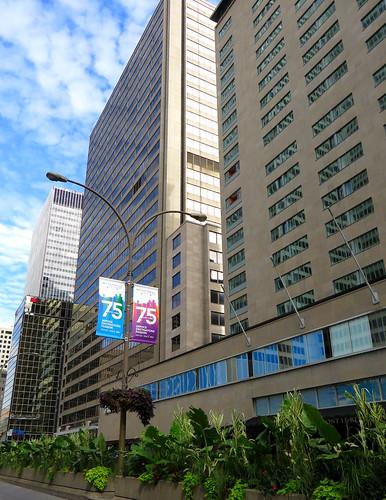 Boulevard René-Lévesque, Montreal, Quebec