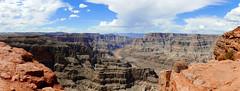 the grand canyon, west rim... colour & monochrome