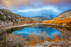 Fresh Snow Sunrise at North Lake