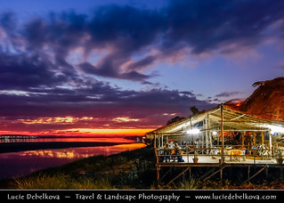 Laos - Vientiane - Happy New Year from Mekong River