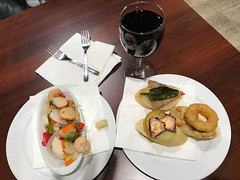 Two Tapas and WIne €3