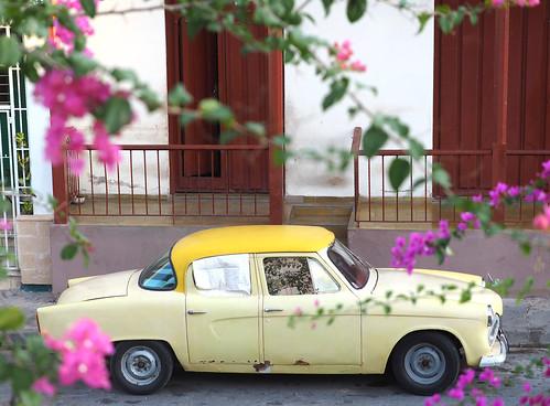 Cuban Oldtimer Classic Car Santiago de Cuba Oriente © Altes Auto Fahrzeug Ost-Kuba ©