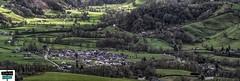 Vue sur Arette - vallée de Barétous