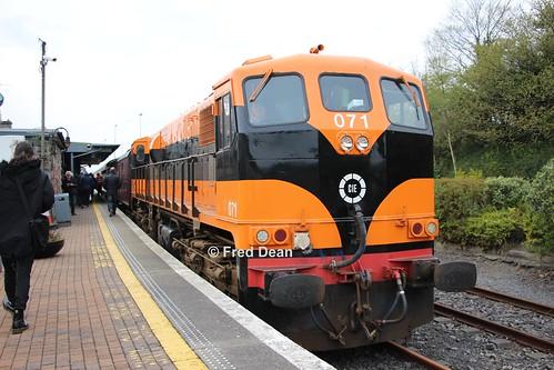 Irish Rail 071 in Ballina.