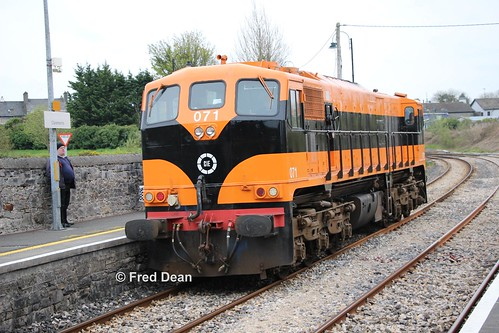 Irish Rail 071 in Claremorris.